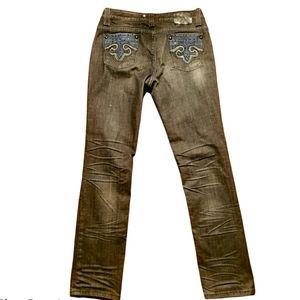Rhinestone Dark Wash Jeans